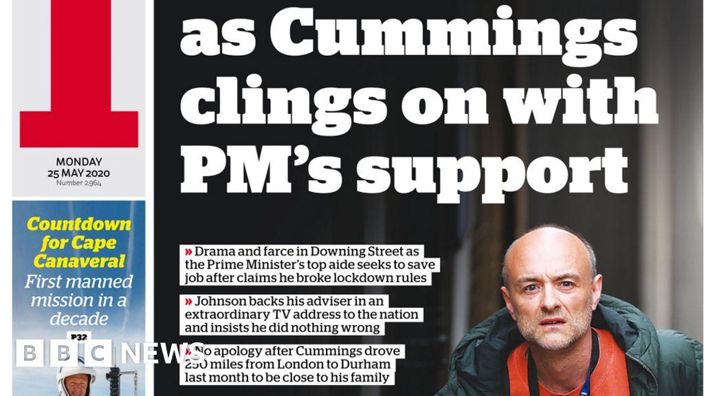 No 10 'chaos' as 'defiant' PM defends Cummings