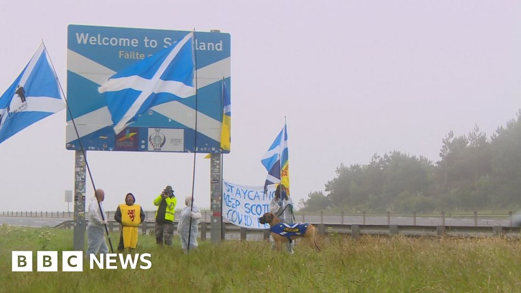 Sturgeon urges people not to protest at border