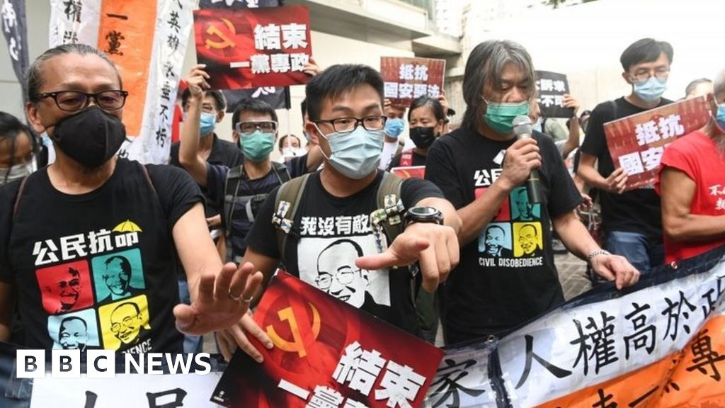 HK arrests dozens as 'anti-protest' law kicks in