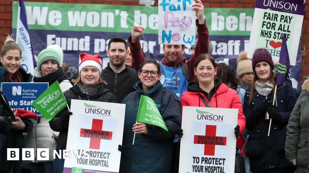 Nurses  strike-NI: a strike by thousands of nurses ends