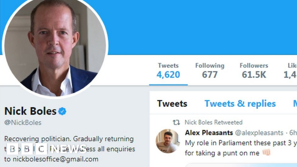 A recovering politician  - the new Twitter life of former MPs