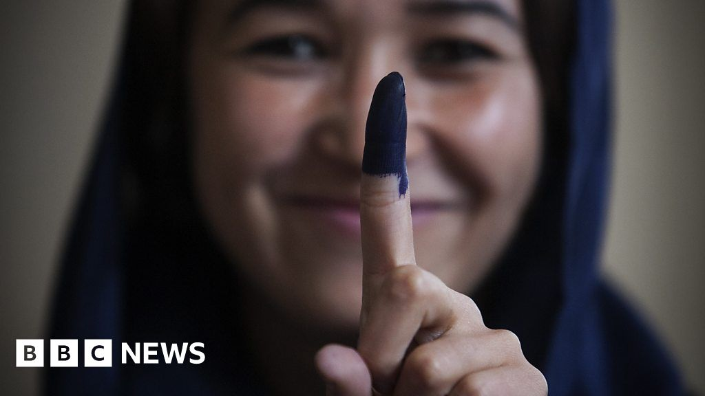 Running an election in a war-torn country