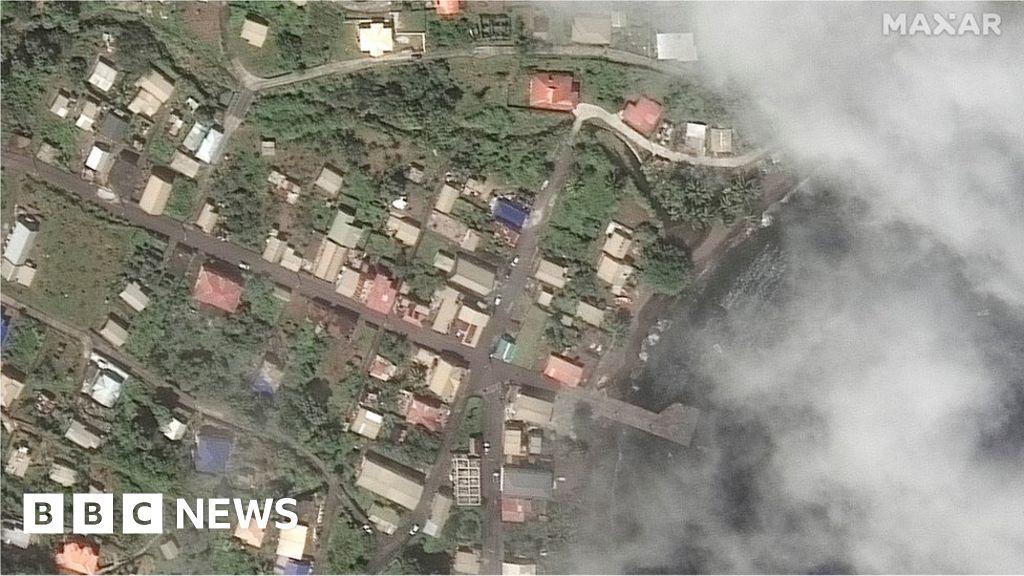 St Vincent volcano: UN warns humanitarian crisis will last months