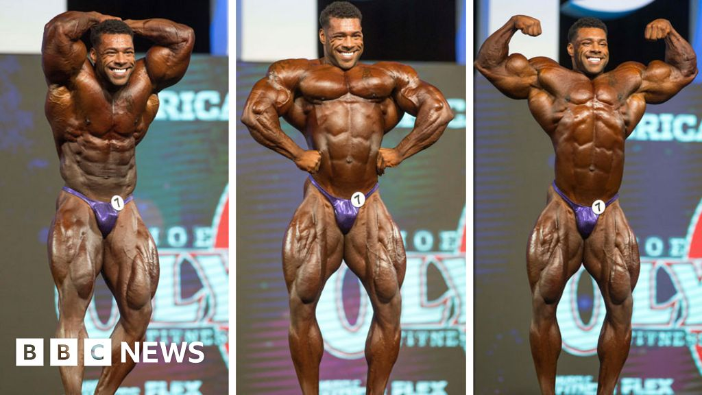 Nathan Deasha Bodybuilder Branded Steroid Disgrace For Gym Supply Bbc News