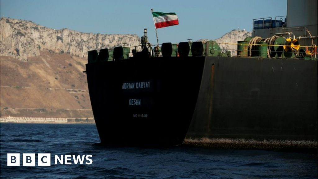Iran tanker: US offers captain millions to hand over ship