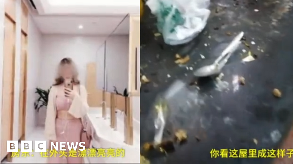 Lisa Li: Angry landlord exposes online star s  double life