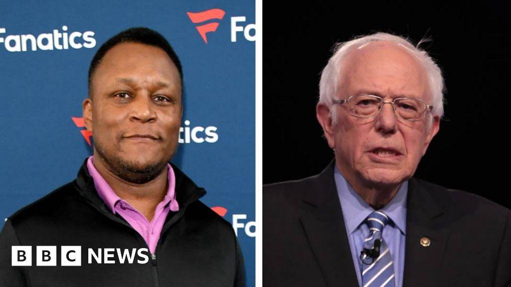 Garth Brooks faces backlash after Sanders mix-up online