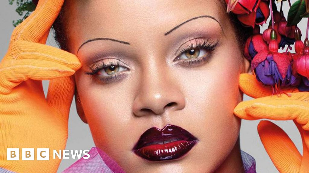 Will Rihannas Eyebrows Become The Vogue Bbc News