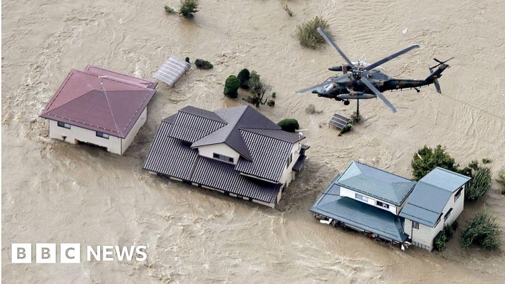 Typhoon Hagibis: Japan braced for powerful storm