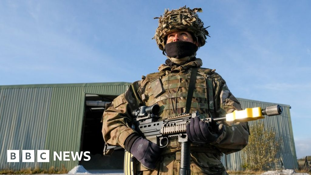 Strength of British military falls for ninth year