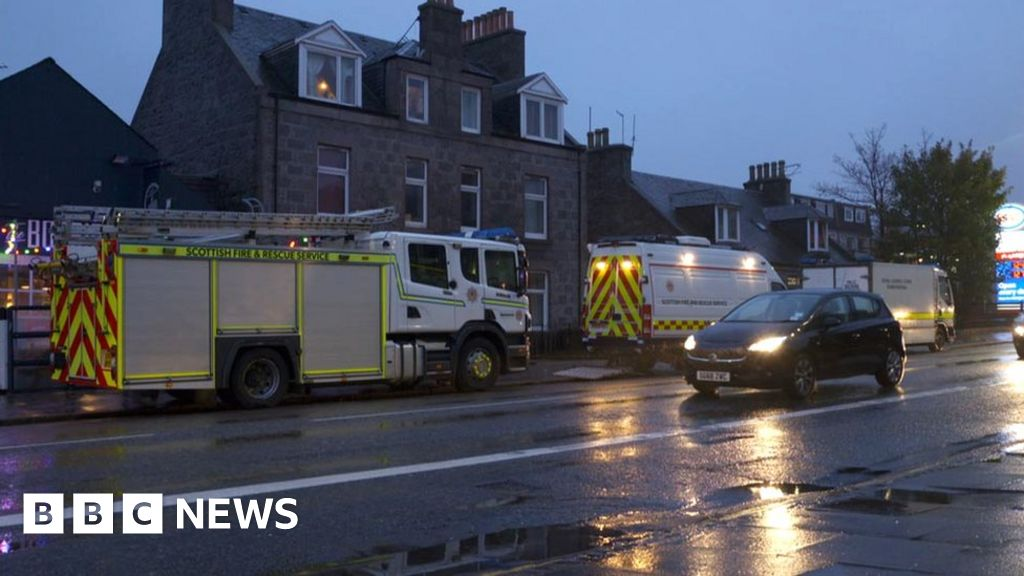 Second property searched after Aberdeen chemical find