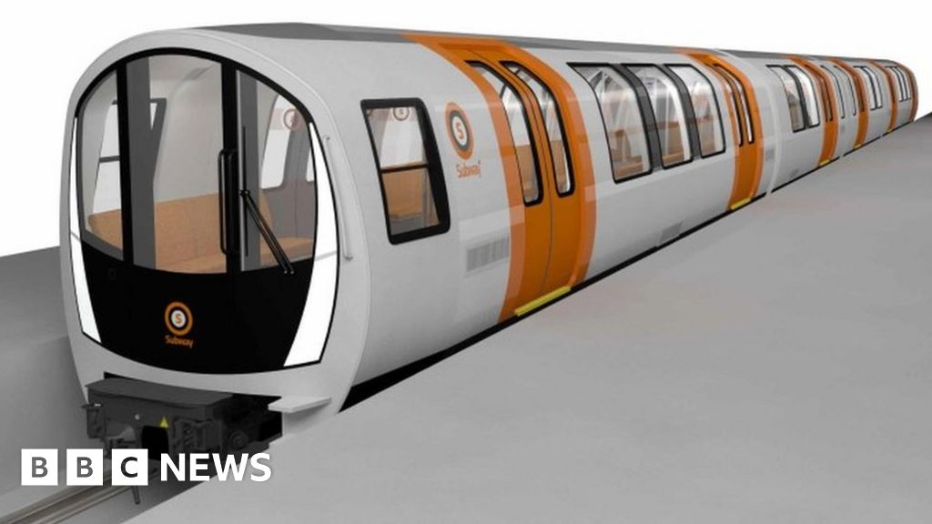 new trains unveiled for glasgow subway system