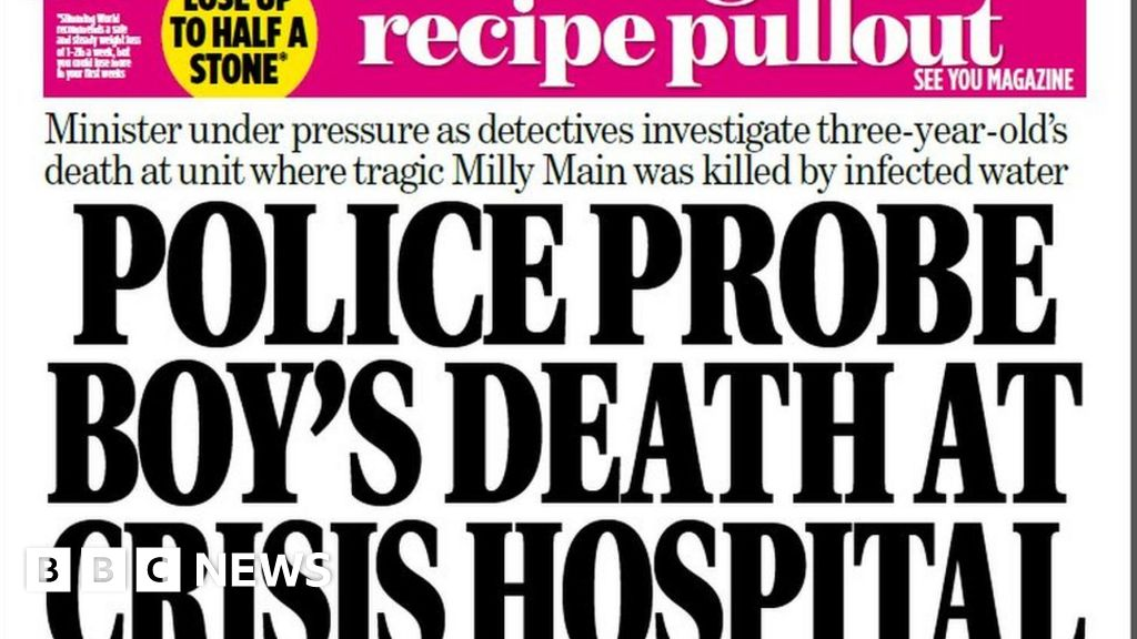 Scotland's papers: Boy's hospital death investigation and Army 'cover up' thumbnail