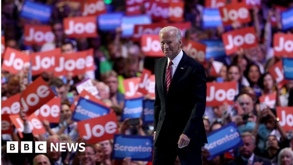 US Election 2020: Biden is crowned as Democratic nominee
