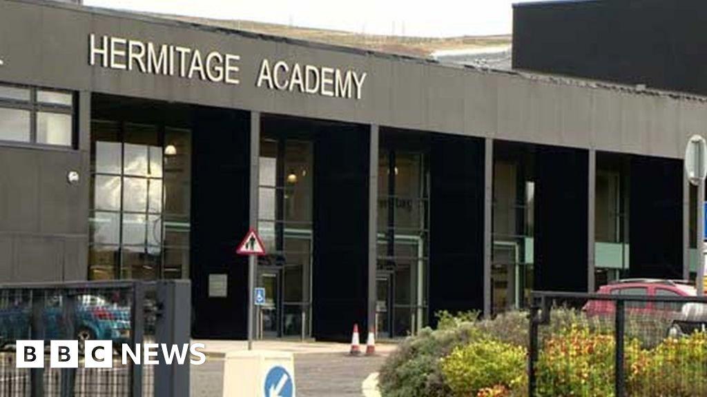 Hermitage Academy reviews exam system after row - BBC News