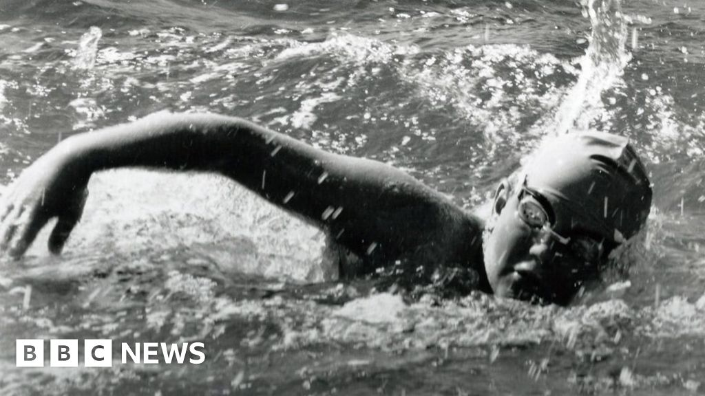 As an 11-year-old came to cross the English channel by swimming