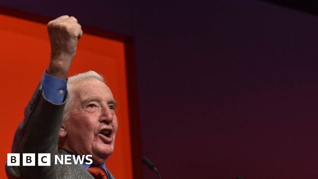 Dennis Skinner: Song about ex-MP tops Amazon download charts