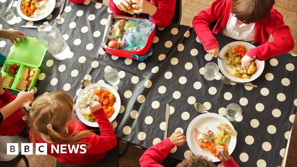School meals: Row continues as half term begins in England