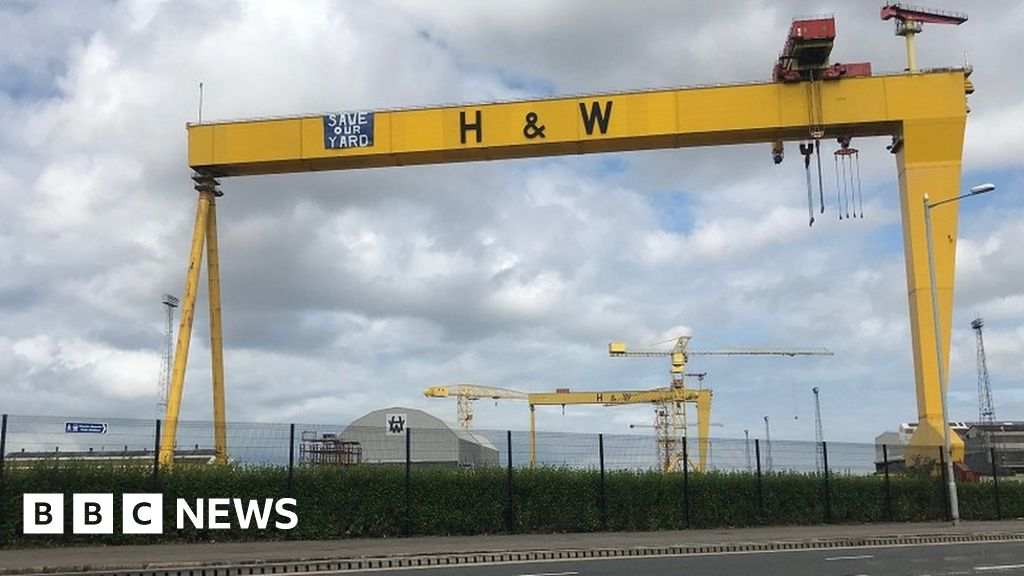 Administrators appointed to Harland and Wolff