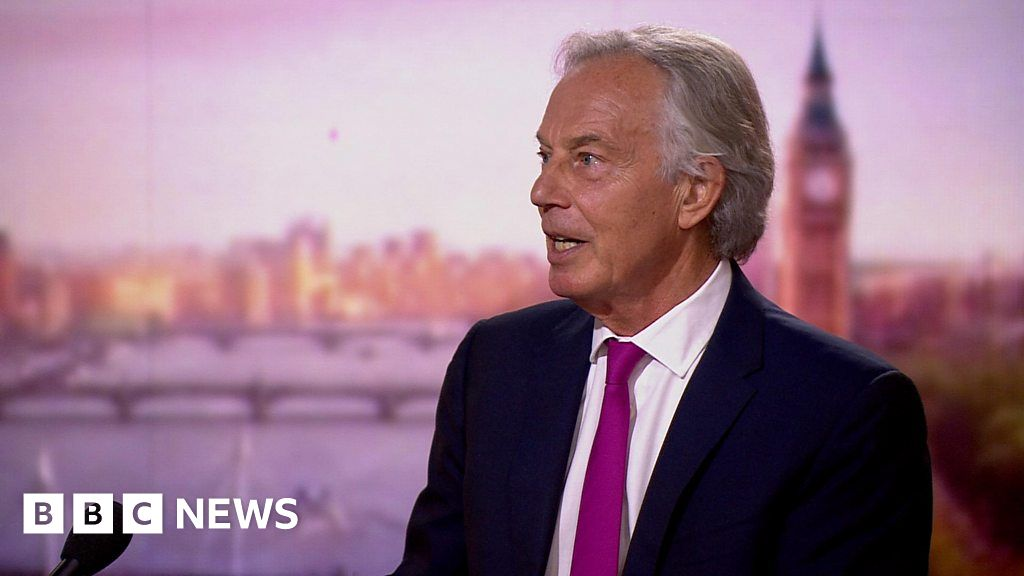 Blair has 'no sympathy' for people who refuse vaccine