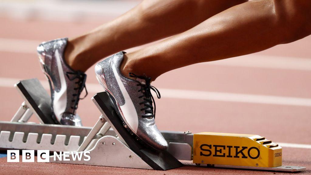 German athletes get intimate camera shots censored
