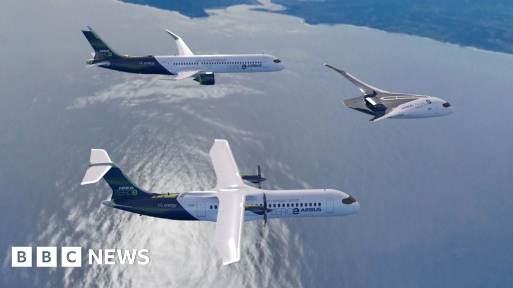 Airbus looks to the future with hydrogen planes