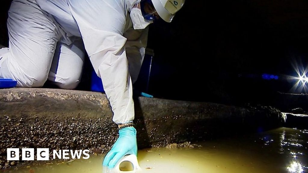 Covid: Sewage sites to test for traces of virus