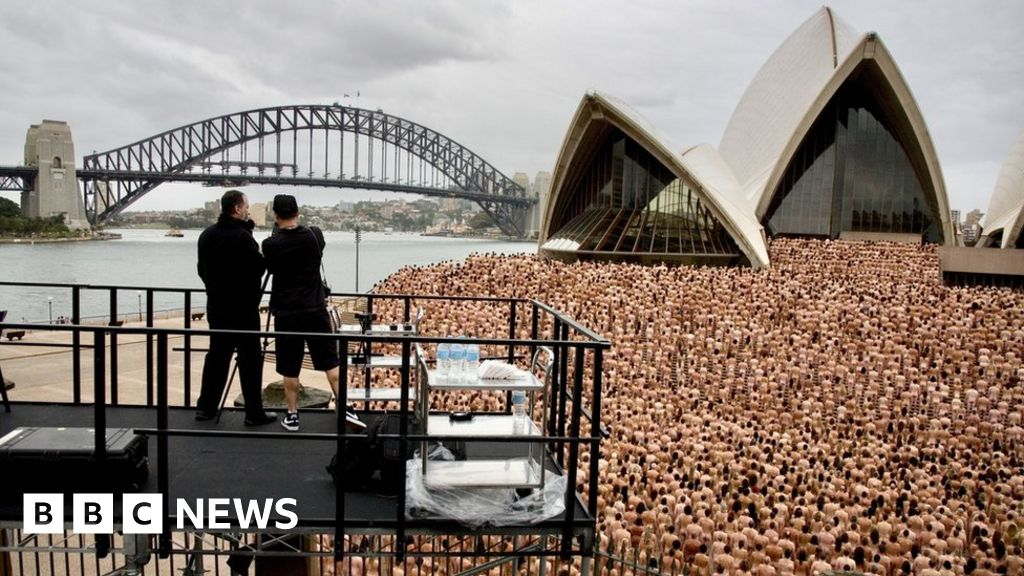 Phrase... super, Spencer tunick nude art agree, the