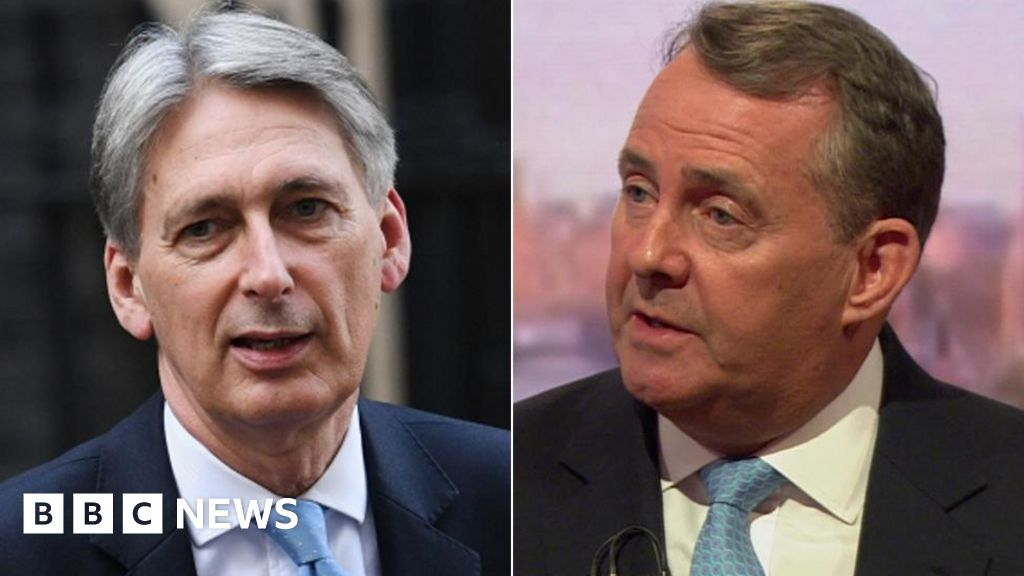 Brexit deal: Fox refuses to back Hammond's warning - BBC News