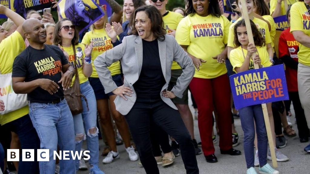 Democrat 2020 candidates turn up for Iowa Steak Fry – BBC News
