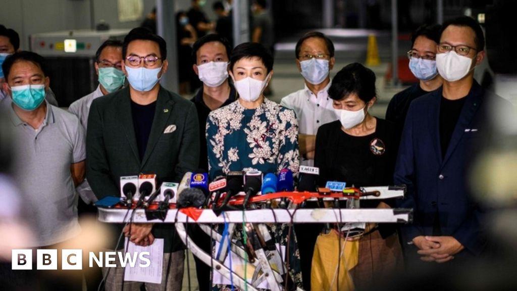 China security law 'could be end of Hong Kong' thumbnail