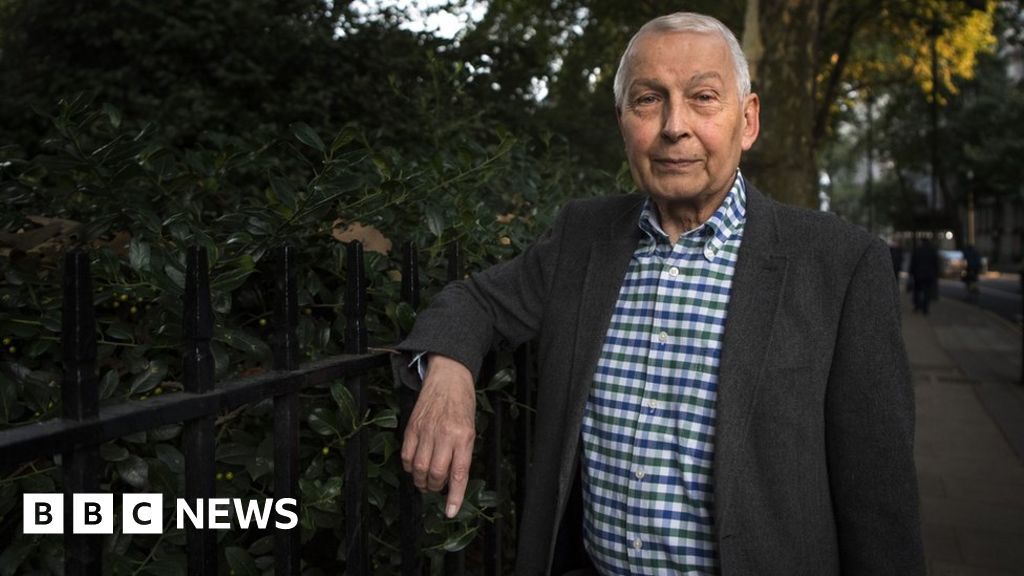 Ex-Labour MP Frank Field is dying, peer reveals