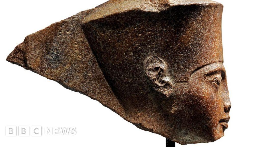 Egypt anger over 'stolen' Tutankhamun auction
