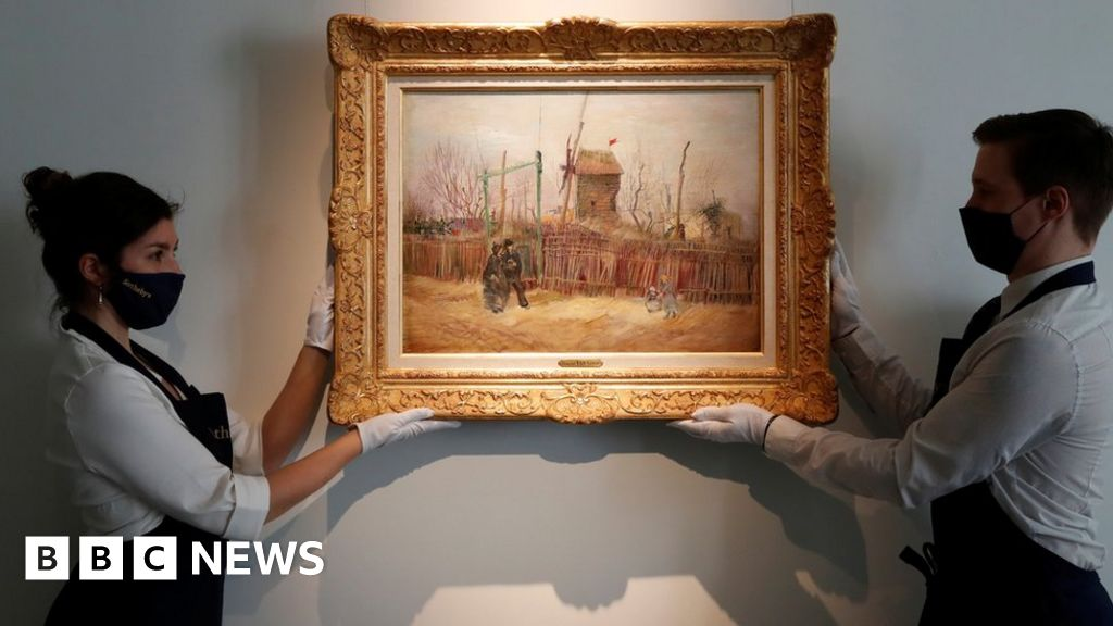 Van Gogh Paris painting goes on public display for first time