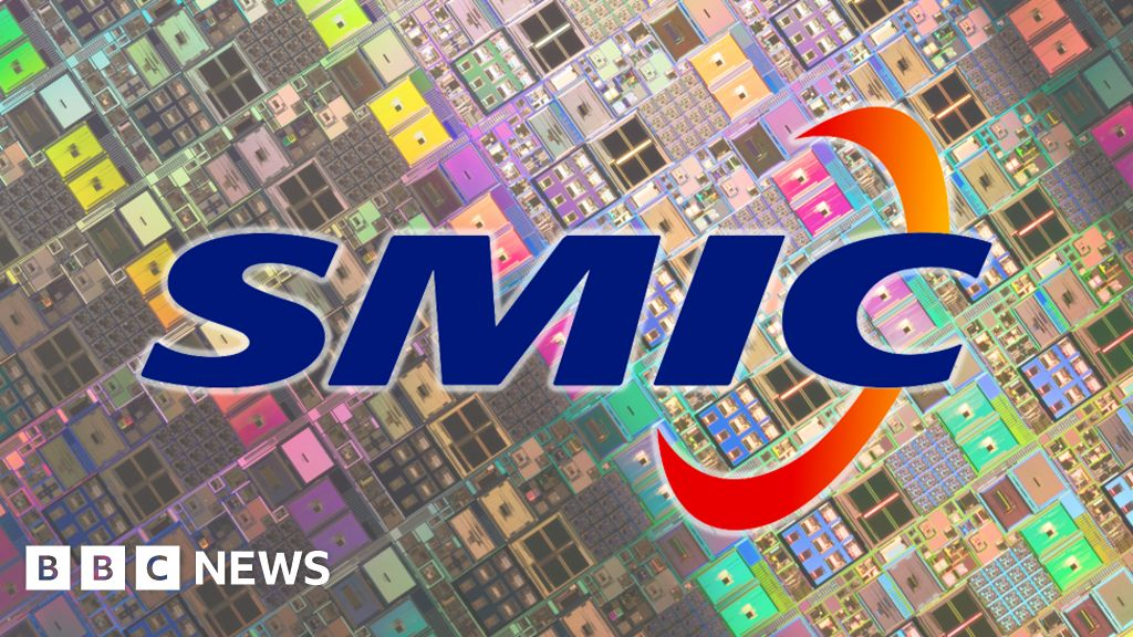 US squeezes China's biggest chip-maker SMIC - BBC News