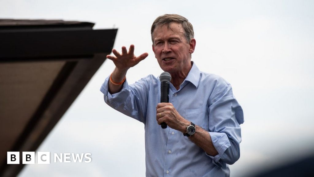John Hickenlooper drops out of presidential race thumbnail