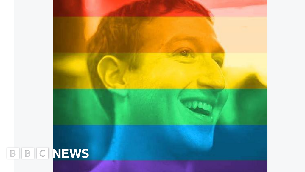 Bbc News Facebook: Who Came Out Against Facebook's Rainbow Flags?