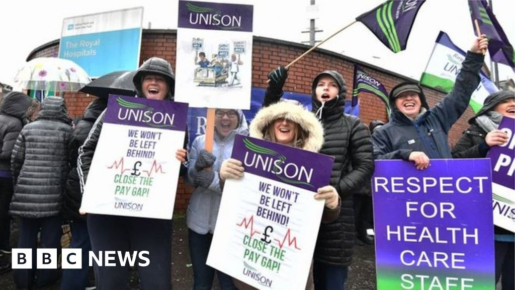 Health strike: NI unions to thank the public industrial action suspended