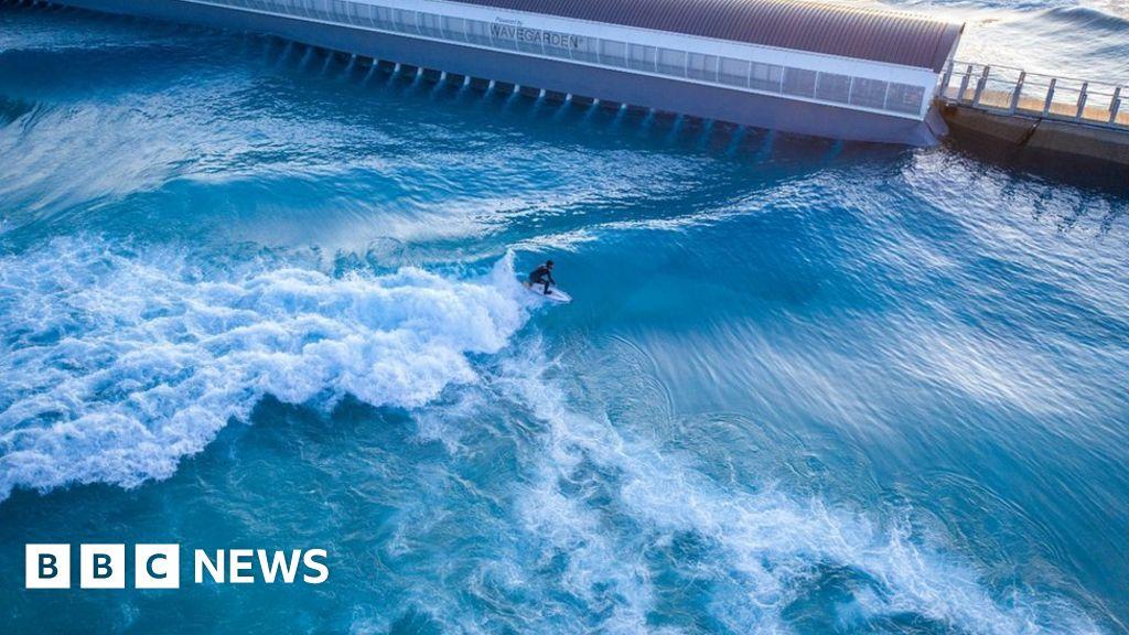 World-class  surf lake opens near Bristol