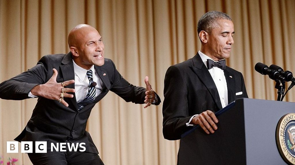 Obama: Eight years, eight jokes (almost) - BBC News