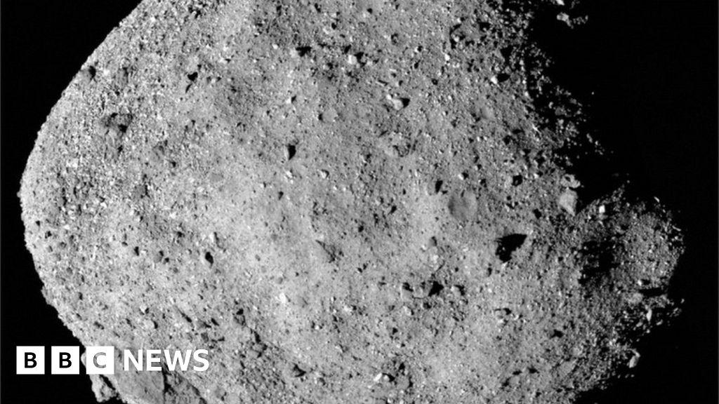 Nasa leaks asteroid samples into space as door jams on Osiris-Rex probe