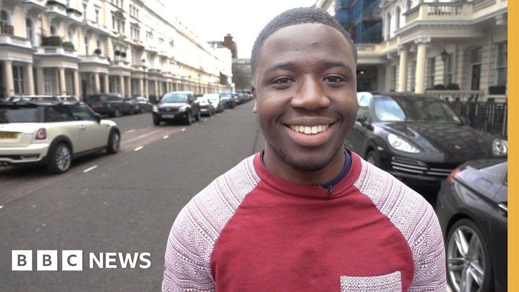 "Résultat de recherche d'images pour ""Reggie went to London's richest area to find out how people made their fortune - BBC Stories"""