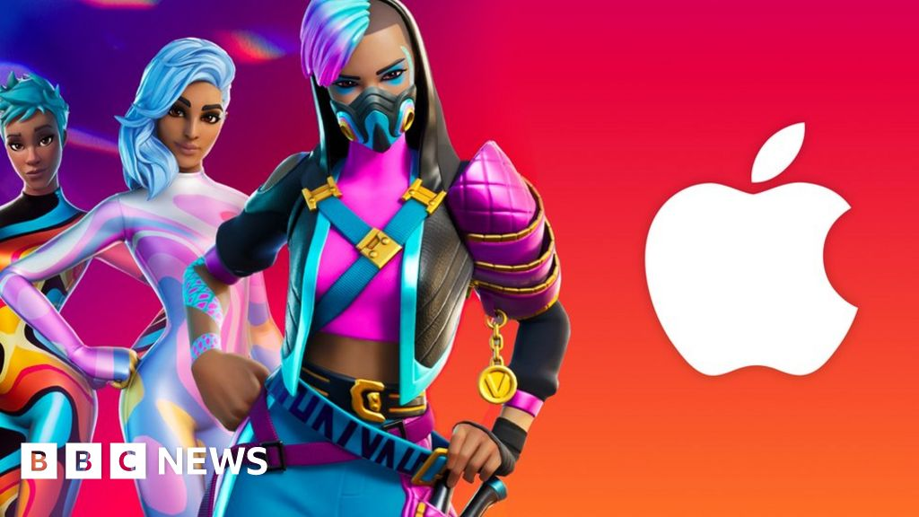 Fortnite sues Apple over App Store ban