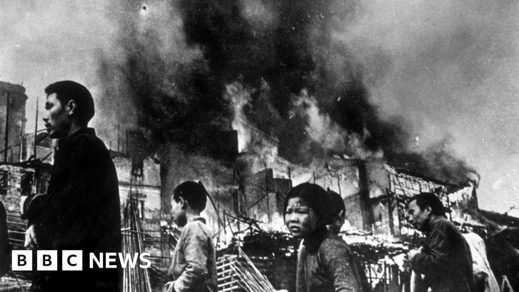 Witnessing Japan's surrender in China - BBC News