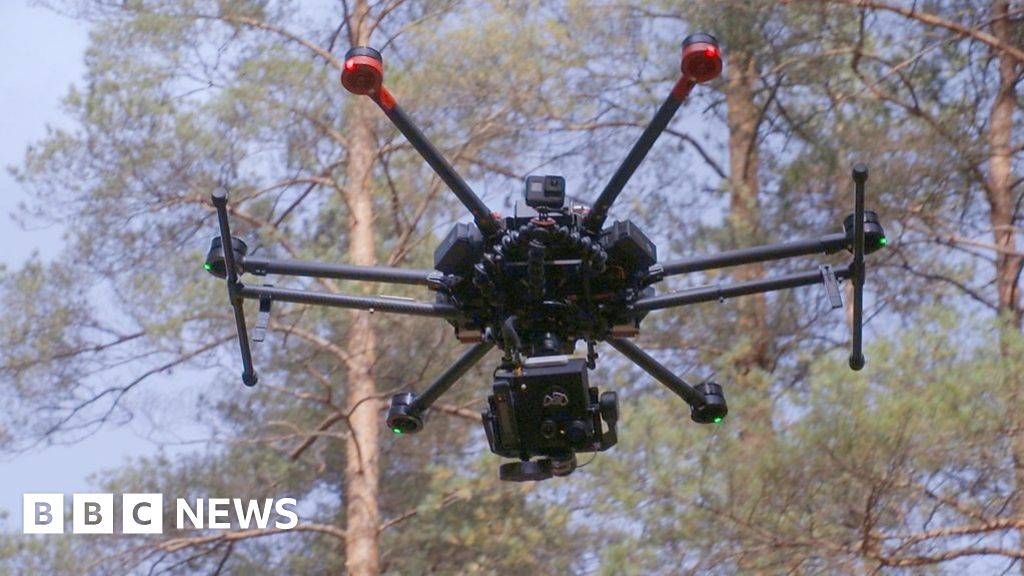 The Thermal Rescue Drone that Finds Woodland Wanderers