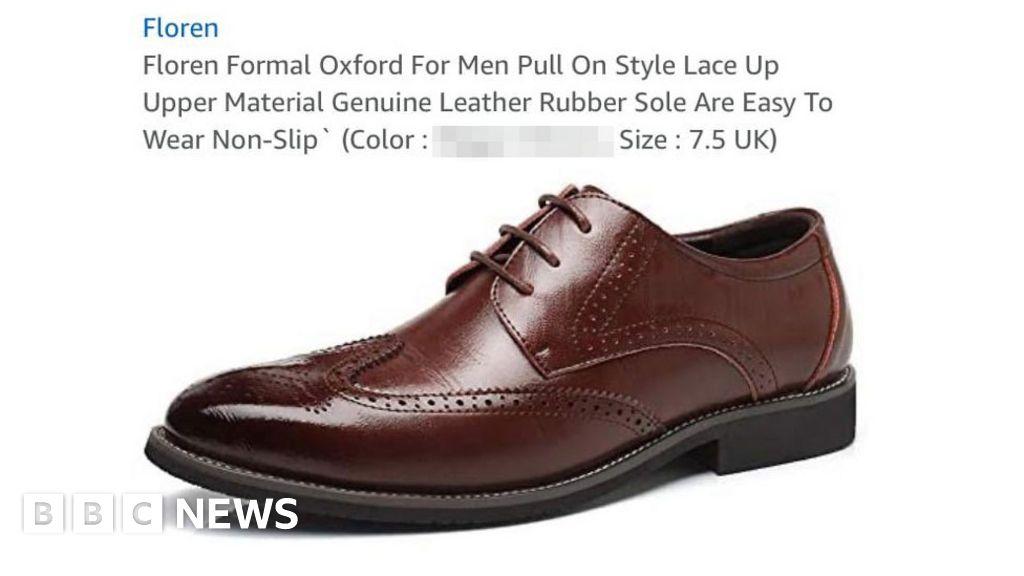 Amazon site advertises shoes using racial slur