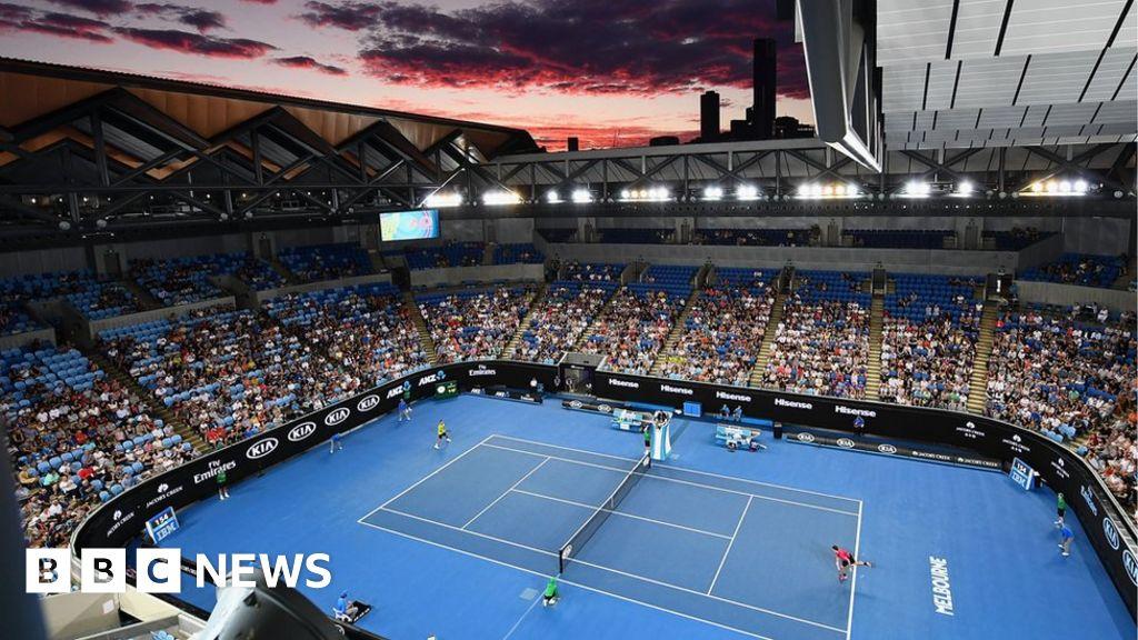 tennis and politics clash on australian open centre court