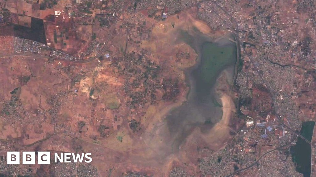 Chennai, the city where drought is visible from space