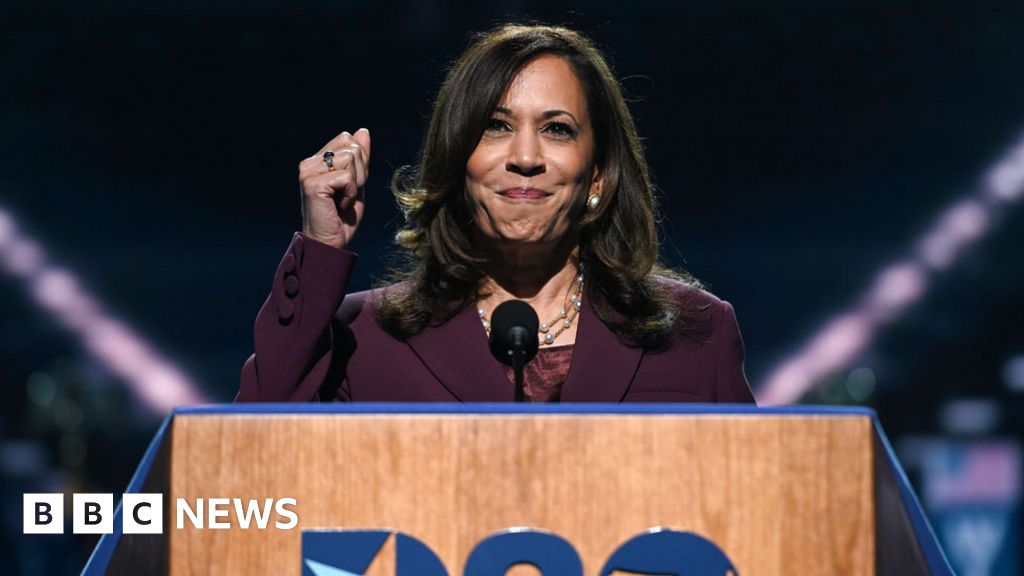 DNC 2020: Kamala Harris blasts Trump 'failure of leadership'