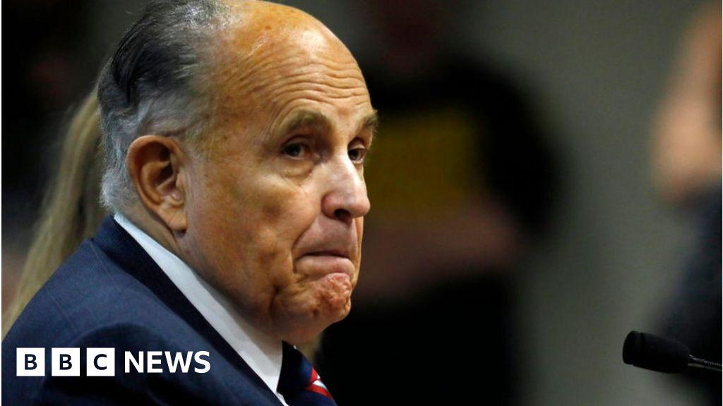 Rudy Giuliani: US investigators raid former Trump lawyer's home